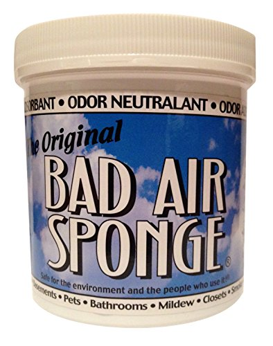 The ORIGINAL Bad Air Sponge Odor Absorbing Neutralant, 14oz