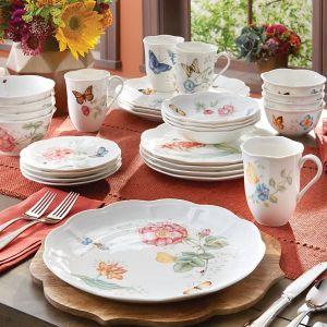 低至三折!尼克松访华国礼 第一骨瓷Lenox  便宜买白宫也用的餐具
