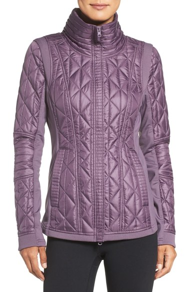 Zella Brooklyn Quilted Jacket