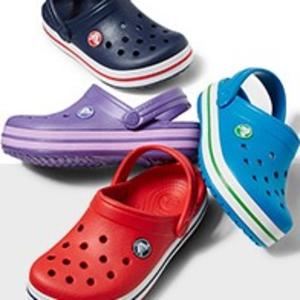 最后一天!孩子们超爱的Crocs洞洞鞋低至$7.49!