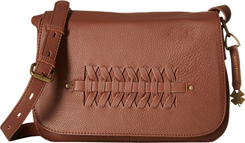 Lucky Brand Kingston Flap Xbody, Brandy