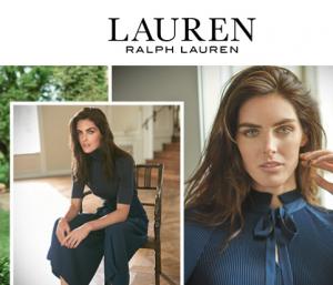 面料讲究穿出好衣品,简约大气Ralph Lauren女装额外7折!