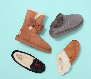 UGG Gita Bow Mini ® Women's Fluff Chelsea Sandals