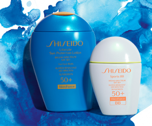 Shiseido Receive a FREE 4 pc Sun gift with purchase of any 2 or more Shiseido Suncare products