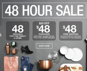 48 Hour Specials!Shop by Macys!