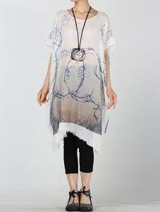 夏季轻便宽松棉T恤连衣裙仅$ 19.99