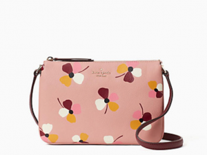 jackson forest floral triple gusset crossbody