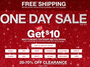 梅西百货全场大促:低至3折+满$50送$10!不锈钢锅$9.99!