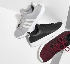 休闲舒适,adidas阿迪达斯运动鞋运动服4折闪购!