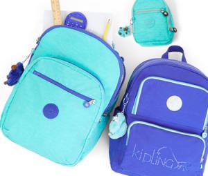 暑假限时热卖:Kipling 大猩猩斜挎包/背包等折上折,$23.52起!