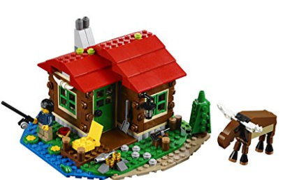LEGO 湖边创意小屋